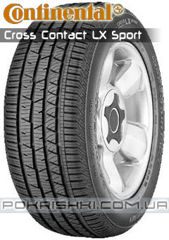 ¬сесезонные шины  Continental Conti Cross Contact LX Sport