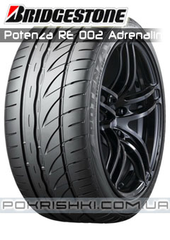 Ћетние шины  Bridgestone Potenza RE 002 Adrenalin
